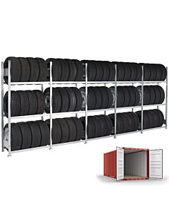 Boltless dekkreol komplett for Container