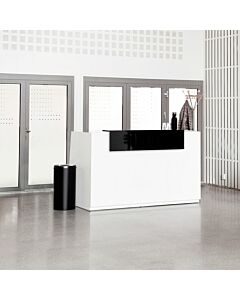 Libra resepsjonsdisk, Hvit med heve-senkebord
